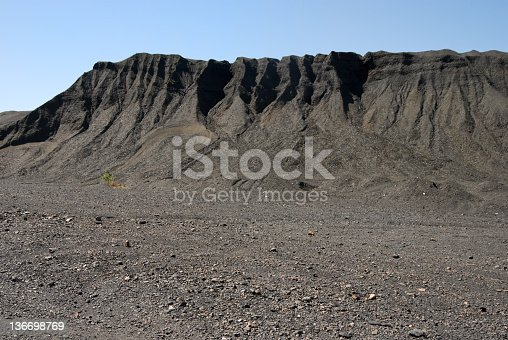 istock Coal Mining Waste Pile, Environmental Damage 136698769