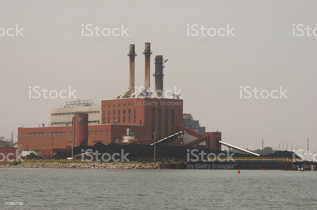 Coal Power royalty-free stock photo