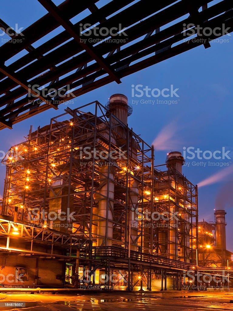 Coal Power Station royalty-free stock photo