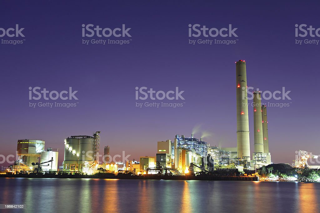 Coal Power Station Lizenzfreies stock-foto