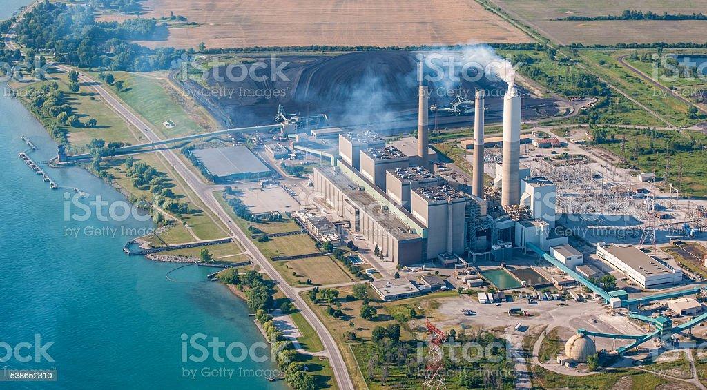 Coal Powerplant #2 stock photo