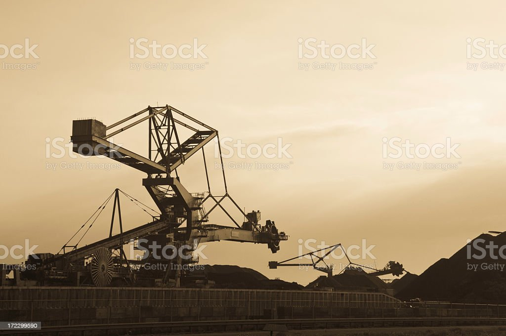 Coal Processor royalty-free stock photo