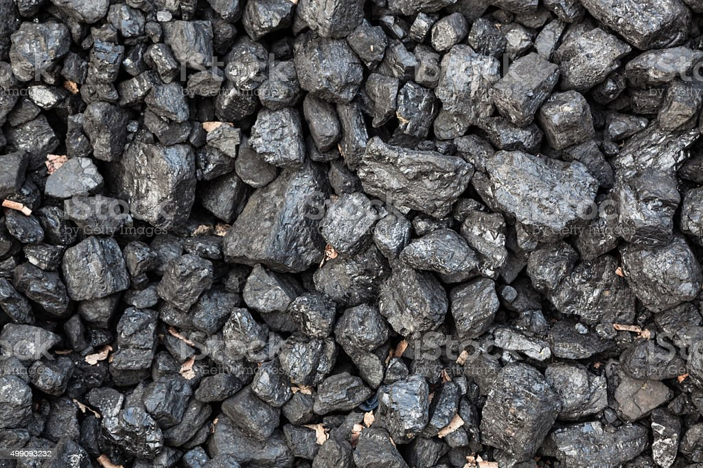 coal rocks stock photo