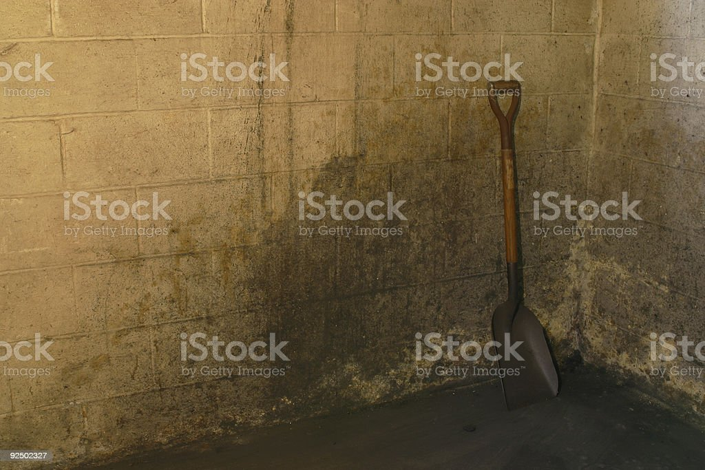Coal Shovel 2 royalty-free stock photo