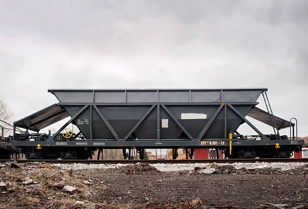Coal train stock photo