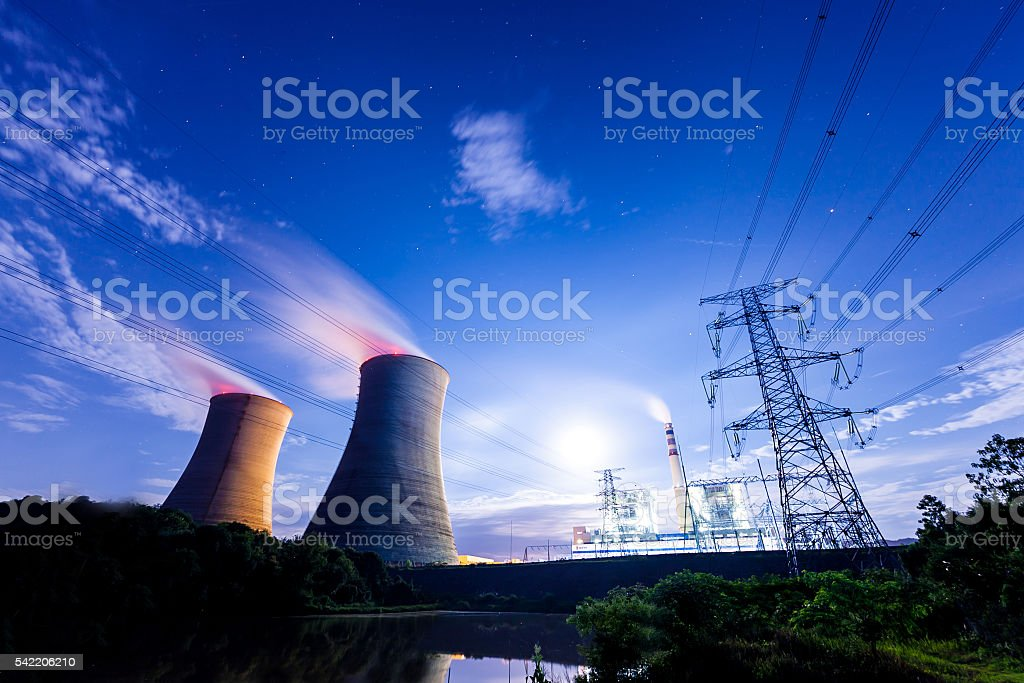 Coal-Fired power plant  - china stock photo
