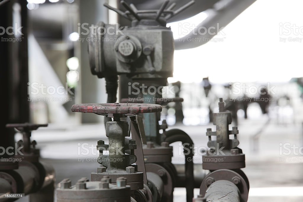 coal-fired Power Station workshop royalty-free stock photo