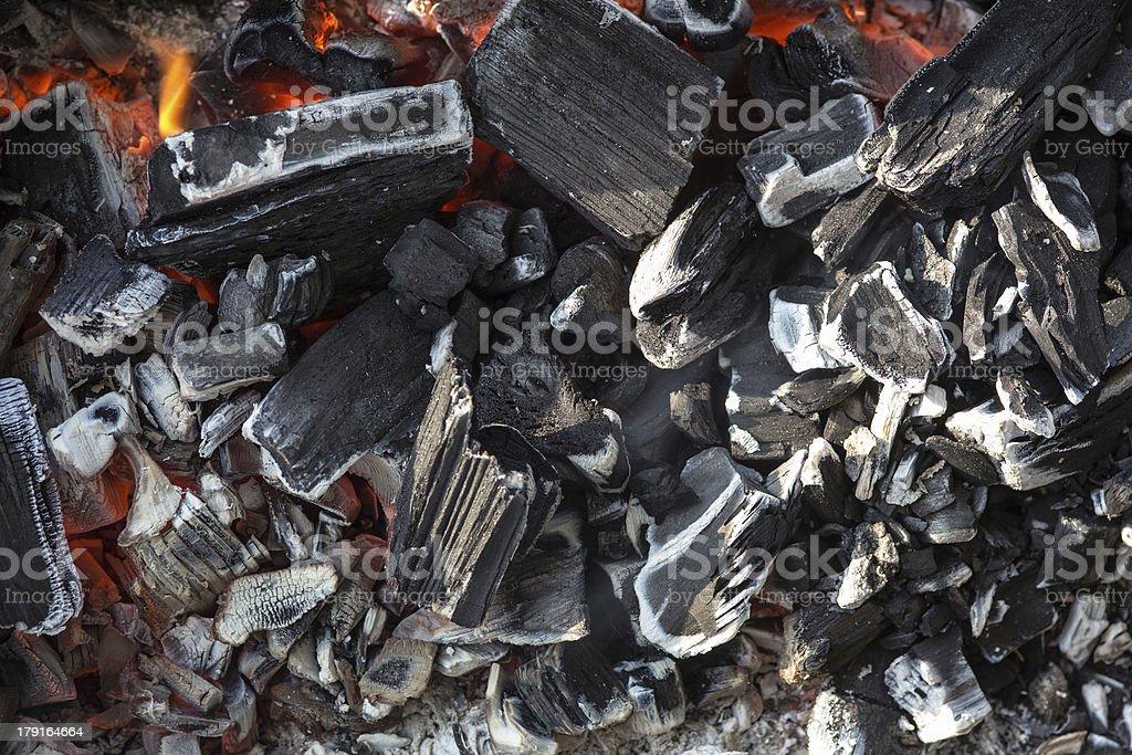 coals close up royalty-free stock photo