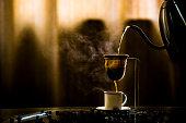istock Coando Café / Stretching Coffee 1255491921