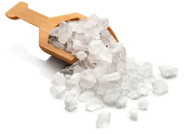 coarse sea salt - sodium stock pictures, royalty-free photos & images