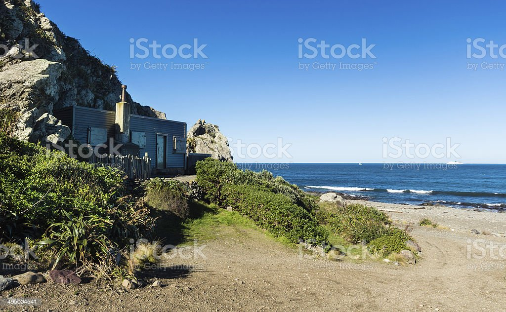 Coast Beach Bach stock photo