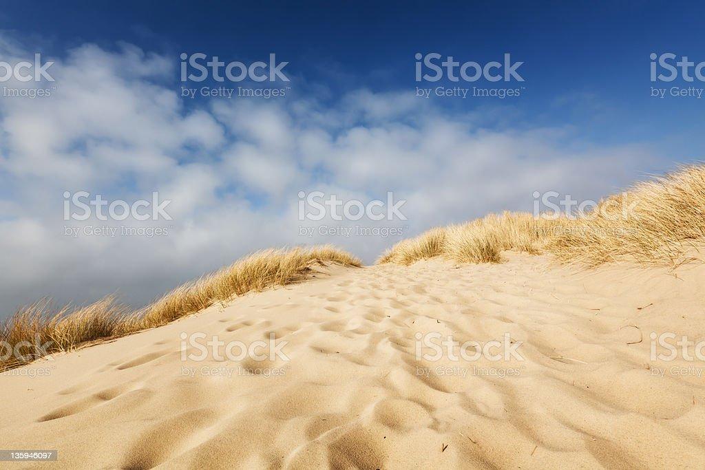 Coast Footprints stock photo