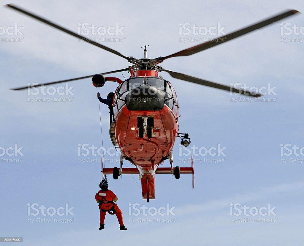 Coast Guard royalty-free stock photo