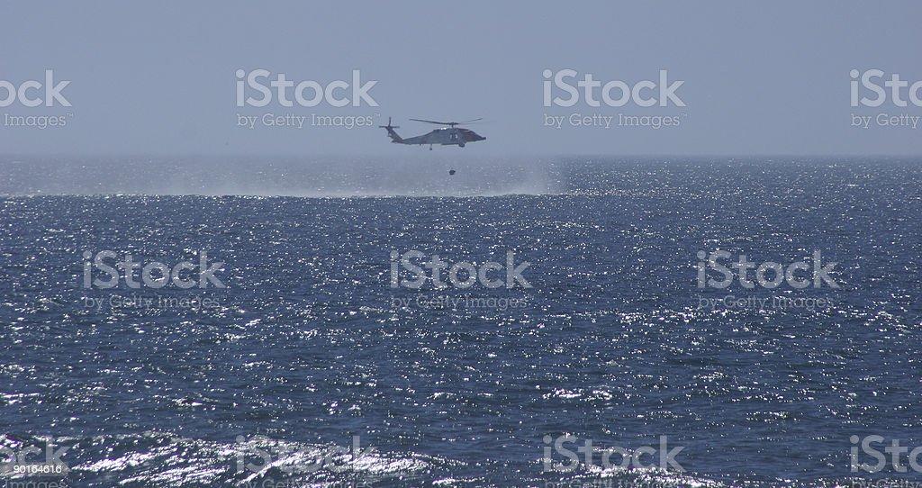 Coast guarda resgate - foto de acervo