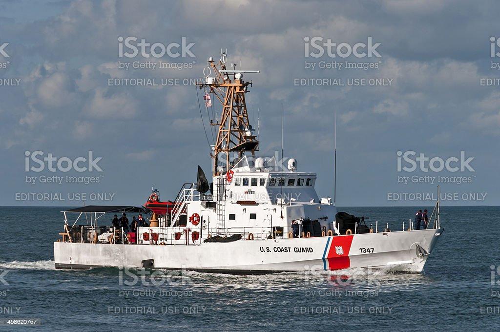 US Coast Guard Vessel stock photo