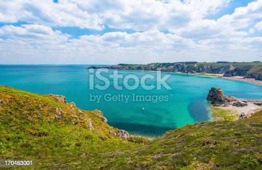 istock Coast in Britanny, France 170463001