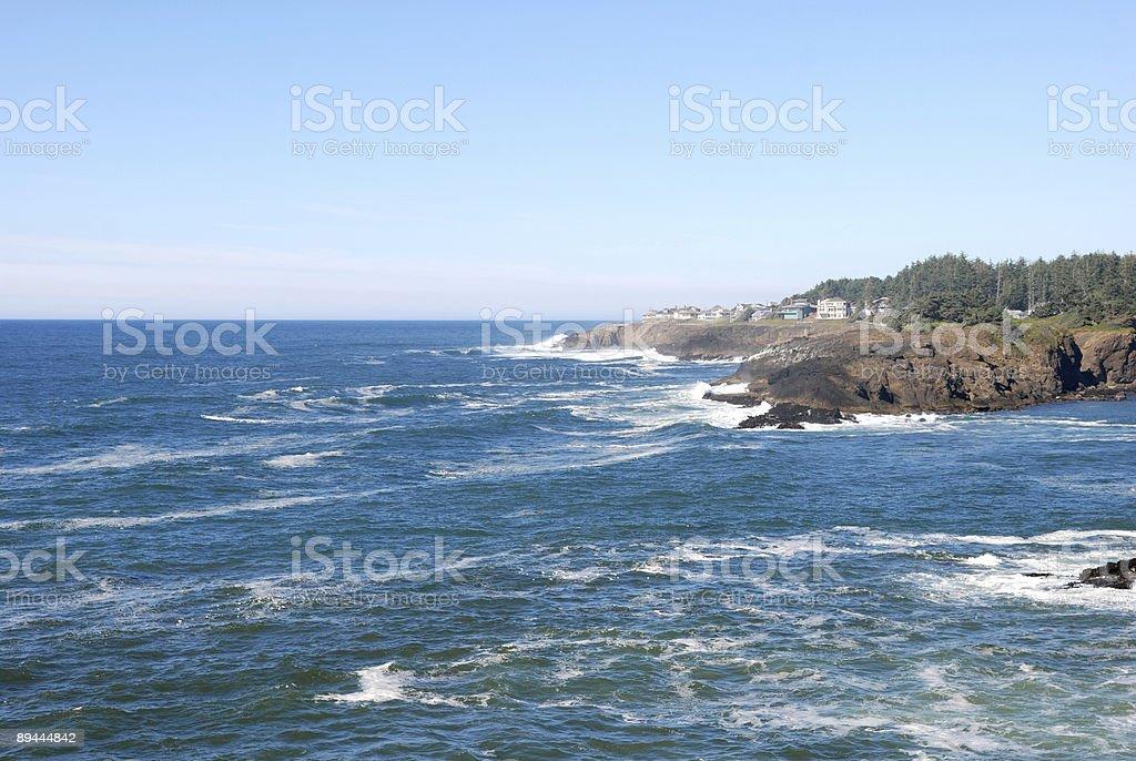 Coast Line royalty-free stock photo