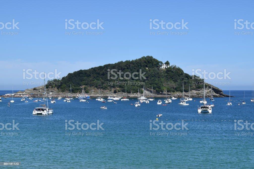 Coast of a gulf. royalty-free stock photo