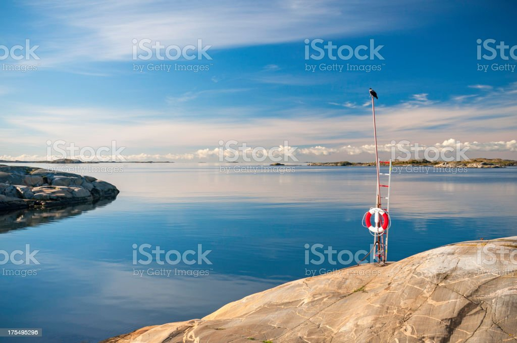 Coast of Gothenburg royalty-free stock photo