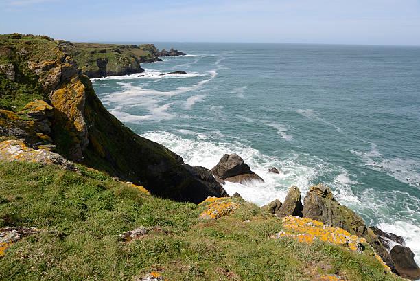 Küste der Insel Île de Groix, Bretagne, Frankreich – Foto