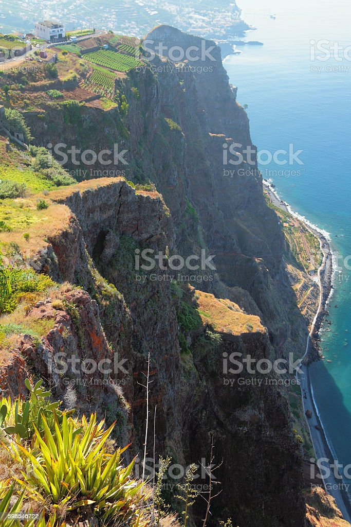 Coast of island of Madeira, Portugal photo libre de droits