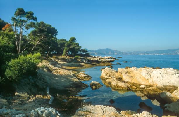 Coast of the Ile Saint Honorat – Foto