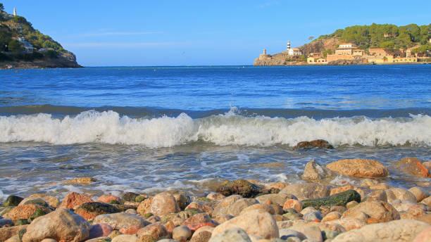 Coast of the island of Palma de Mallorca near the city of Porto Cristo.