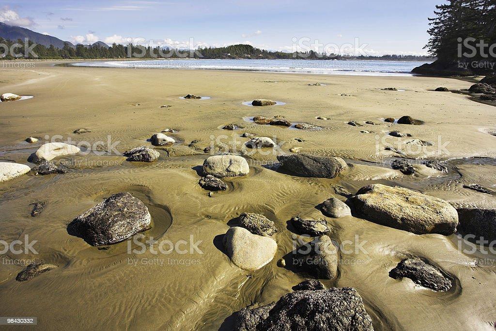 Costa del Canada occidentale foto stock royalty-free