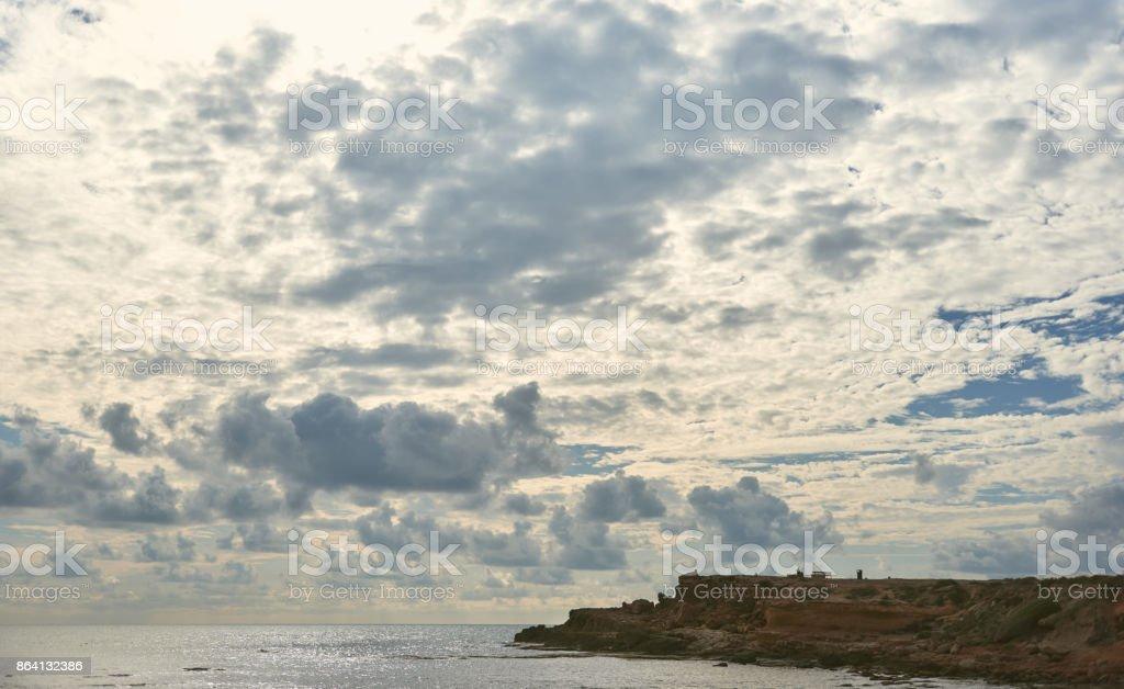 Coast of Torrevieja city royalty-free stock photo