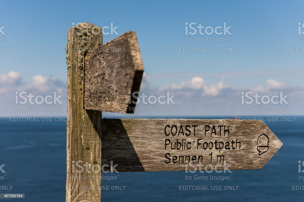 Coast Path stock photo
