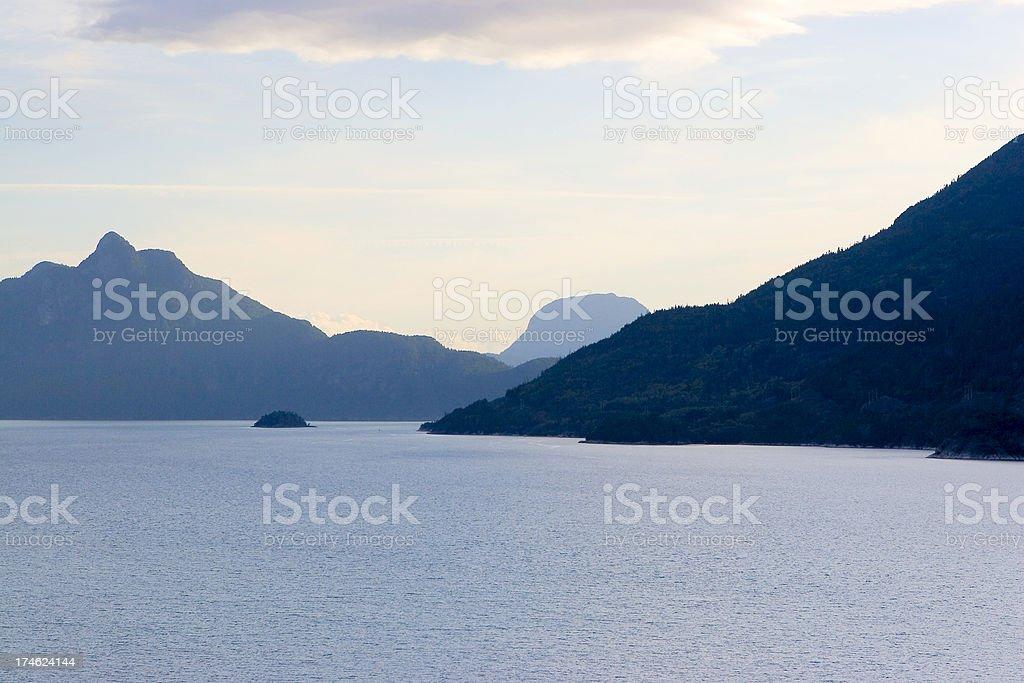 BC coast royalty-free stock photo