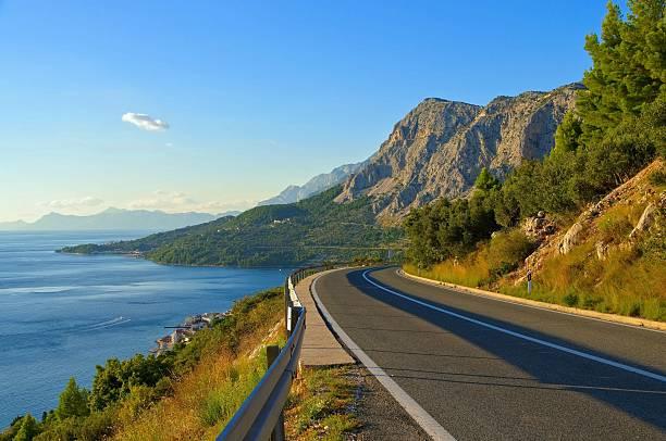 coast road Kroatien – Foto