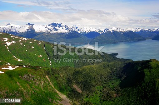 istock Coastal Alaska and the Taku inlet. 172963198