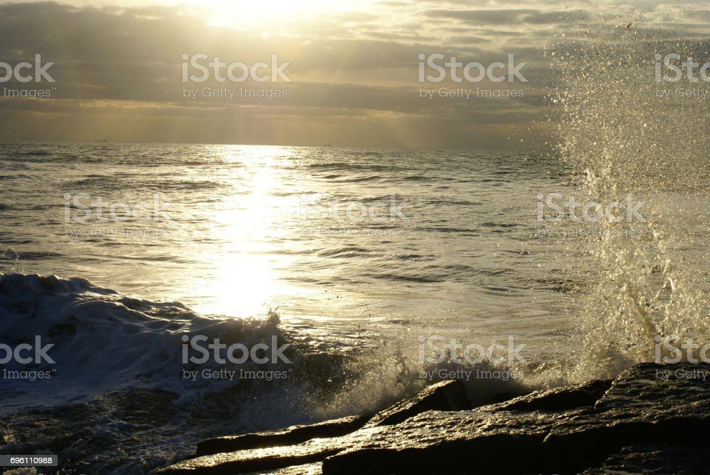 Coastal Beach Area stock photo
