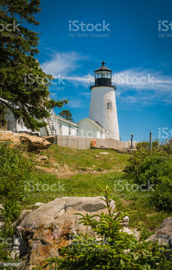 Coastal Beacon stock photo