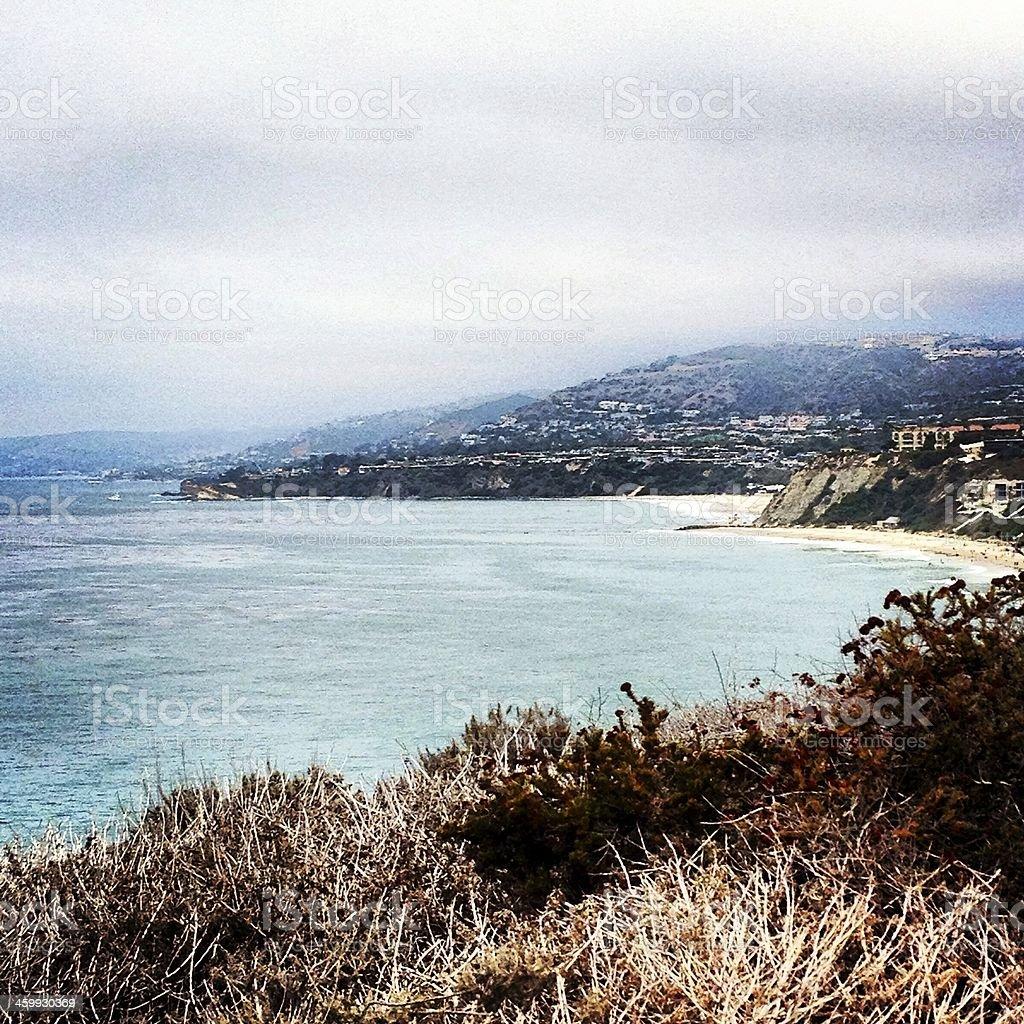 Coastal California stock photo