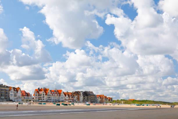 Küstenstadt De Haan, Belgien – Foto