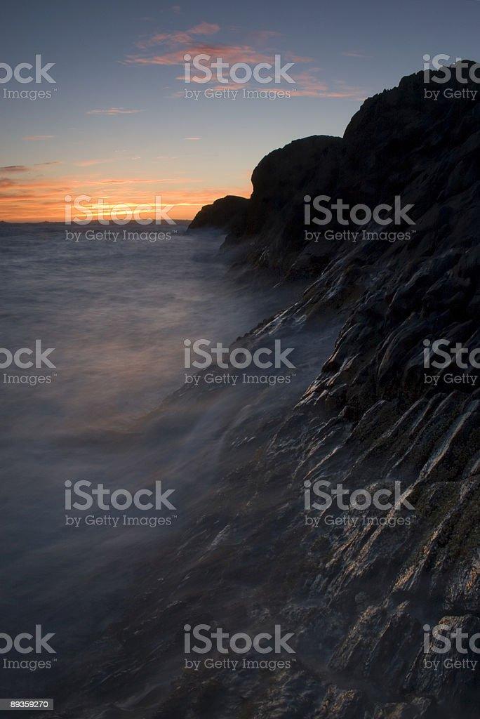 Coastal scogliere. foto stock royalty-free