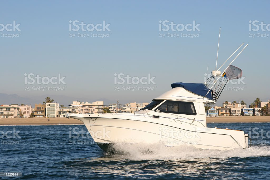 Coastal Cruising royalty-free stock photo