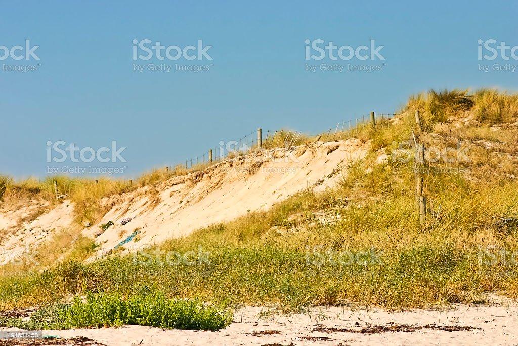Costa en Areoso Islan Duna - foto de stock