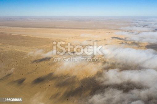 1083309578 istock photo Coastal fog rolling over the skeleton coast. 1166055866