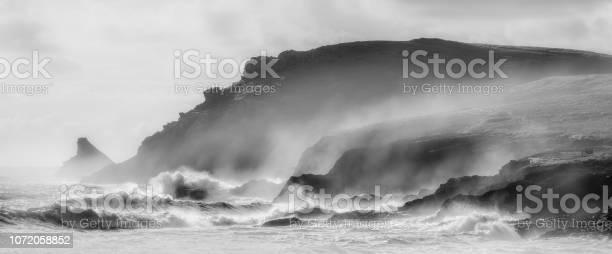 Photo of Coastal Gales over Trevose Head, Cornwall