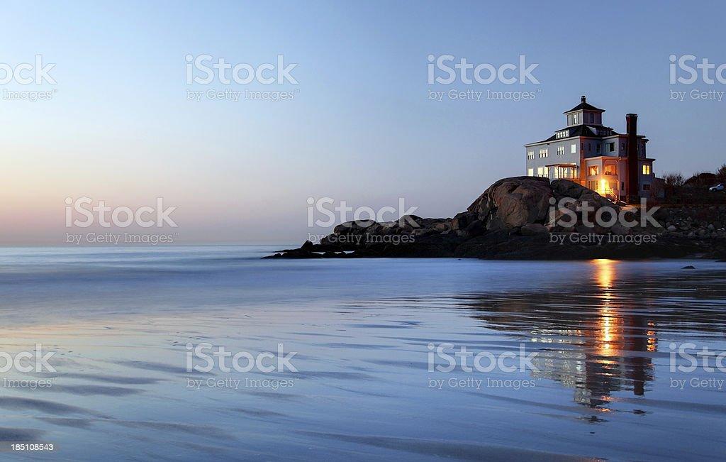 Coastal Home stock photo