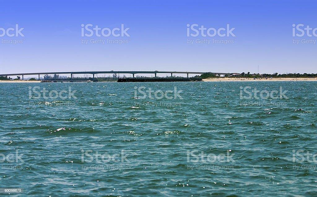 Coastal Inlet royalty-free stock photo
