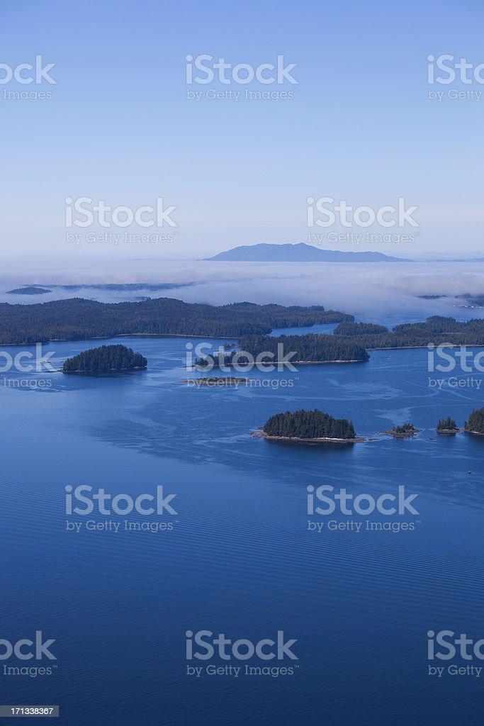 Coastal Islands stock photo