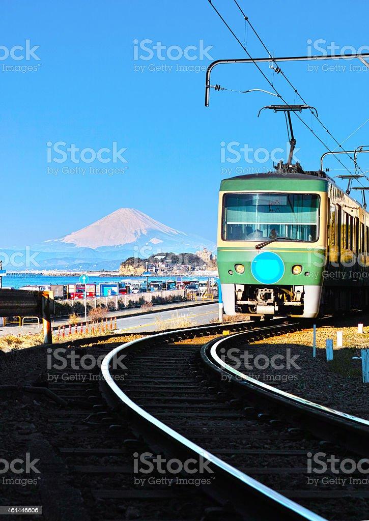Coastal Landscapes Kamakura stock photo