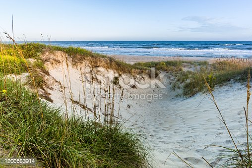 Seascape landscape photography of the North Carolina Coastline