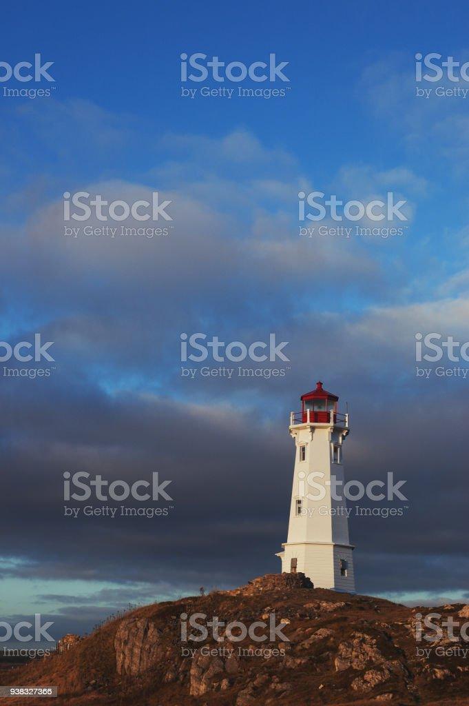 Coastal Lighthouse stock photo