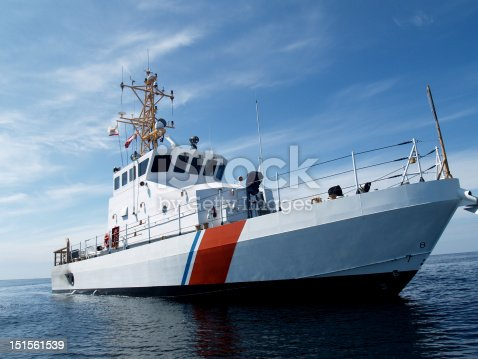 A United States Coast Guard Cutter of the Marine Protector class. This is an 87' vessel capable of 30+ knots and it is used for law enforcement, and search and rescue operations.