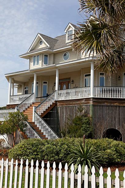 Coastal Residence stock photo